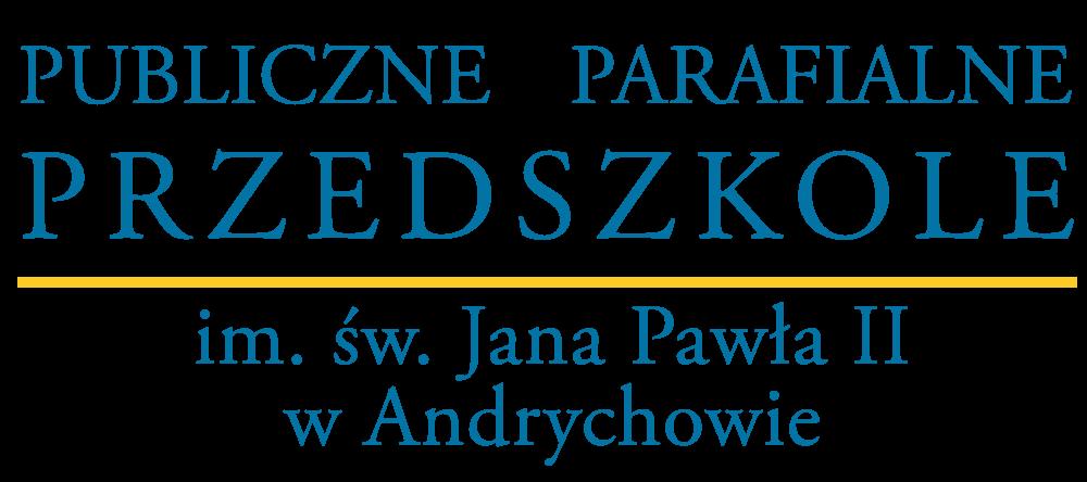Publiczne Przedszkole Parafialne im. św. Jana Pawła II w Andrychowie Retina Logo
