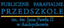 Publiczne Przedszkole Parafialne im. św. Jana Pawła II w Andrychowie Logo